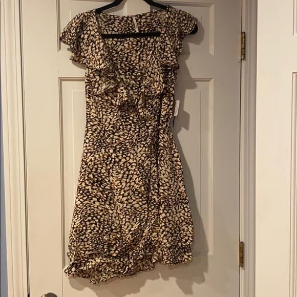 Free People wrap dress size M